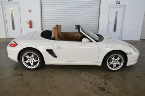 015 Boxster Weiss